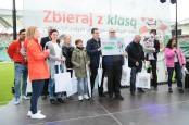 Wyróżnieni - WTZ Susz z ambasadorami, fot. Paweł Wodzyński