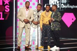 062517-shows-BETA-bet-awards-highlights-Laz-Alonso-Jacob-Latimore-Algee-Smith-Jason-Mitchell